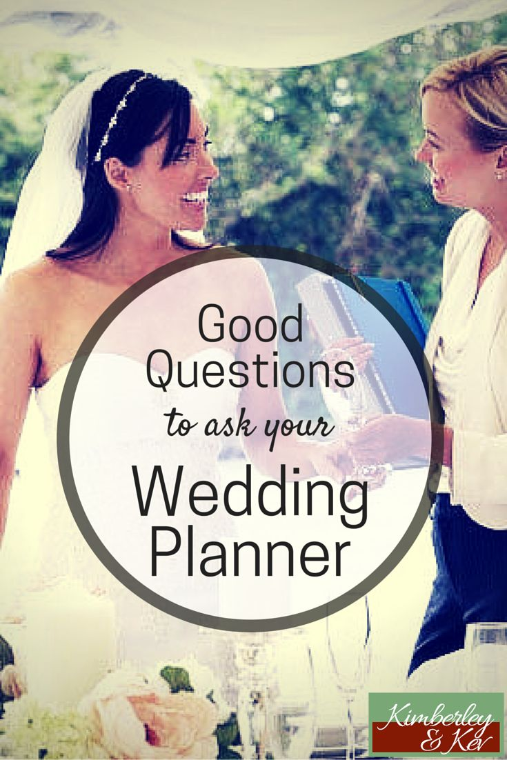 Make sure your wedding planner will give your wedding enough attention and more importantly, be present when you need them to be.