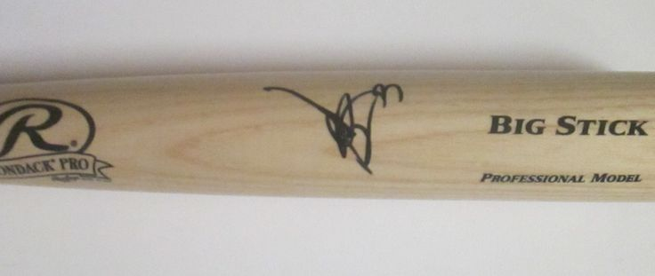 Hiroyuki Nakajima Autographed Rawlings Big Stick Baseball Bat, Proof Photo. Hiroyuki Nakajima Signed Rawlings Big Stick Baseball Bat, 2009 Japan National Team, Orix Buffaloes, Seibu Lions, Proof  This is a Hiroyuki Nakajima autographed Rawlings Big Stick full size 34 inch baseball bat. Hiroyuki signed the baseball bat in black sharpie. Check out the photo of Hiroyuki signing for us. ** Proof photo is included for free with purchase. Please click on images to enlarge. Please browse our…