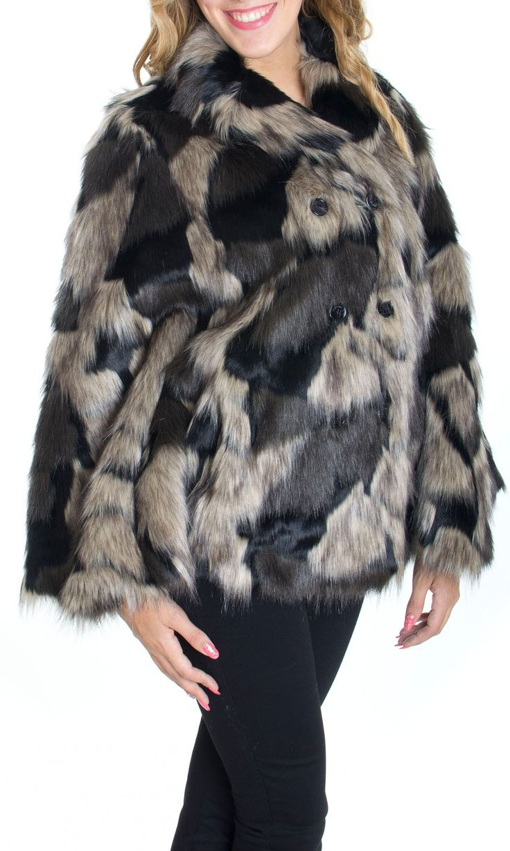 Trussardi Jeans | Pelliccia Trussardi Jeans Donna Cappa Col. Nero - Shop Online su Dursoboutique.com 56S05