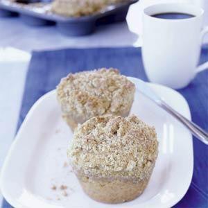 Brown Sugar-Banana Coffee Cakes Recipe | MyRecipes.com