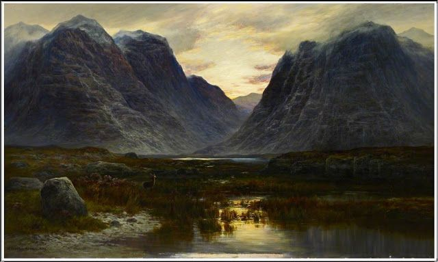 William Beattie Brown (1831–1909), Coire-na-Faireamh, in Applecross Deer Forest, Ross-shire - 1883/84