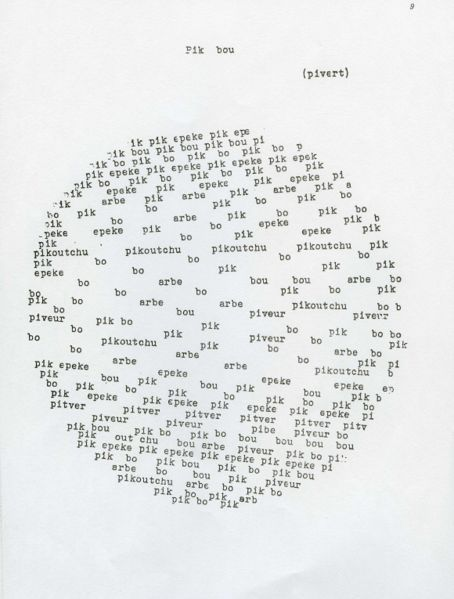 Pierre Garnier's Pik bou (Seiichi Niikuni)