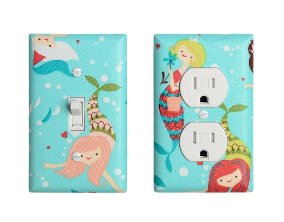 Lights Aqua Mermaid Mermaid Kids Bathroom Decor Kids Bathroom Under