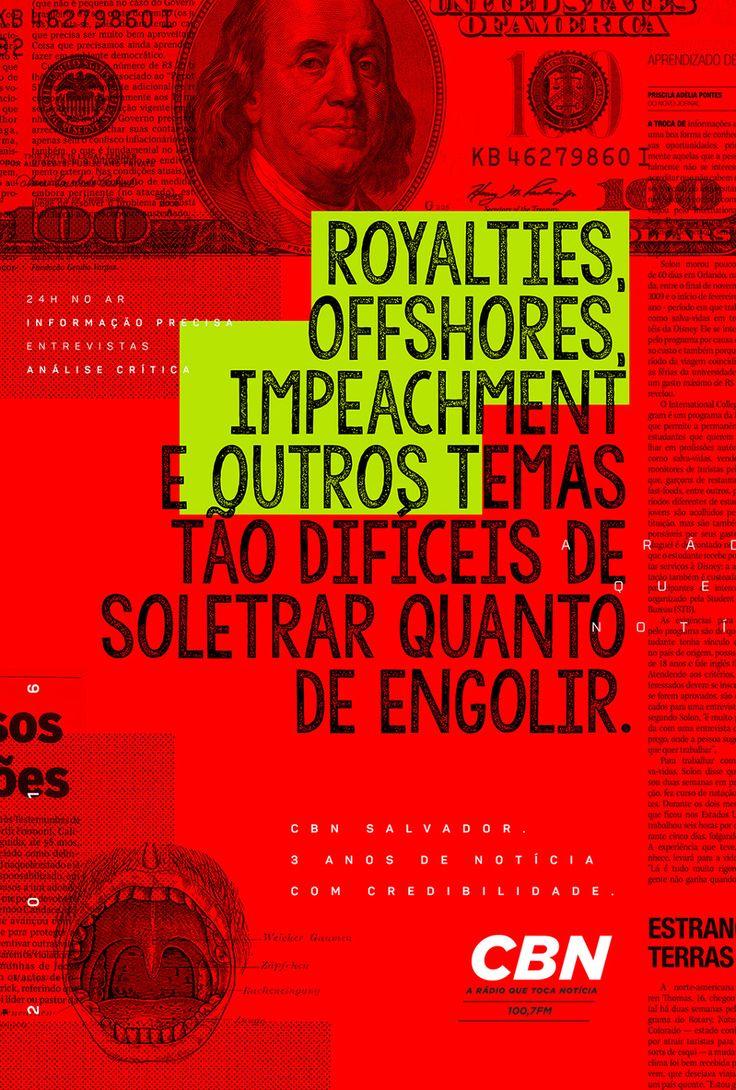 Puta Sacada - Redação Publicitária - CBN Salvador | 3 anos