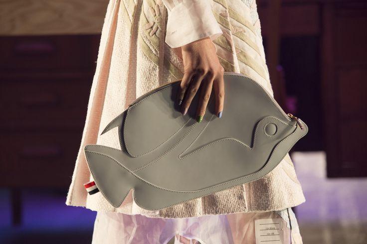 // Thom Browne fish bag