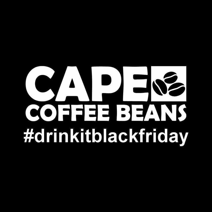 Don't forget to drink it black this Friday and check out our special deals while you're at it! #drinkitblackfriday #blackfriday #shopping #discounts #coffee