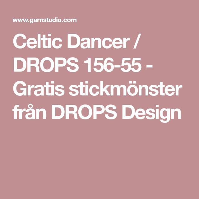 Celtic Dancer / DROPS 156-55 - Gratis stickmönster från DROPS Design
