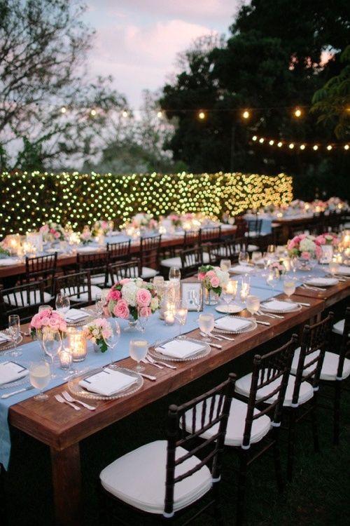 weddingwithgrace: outdoor wedding.