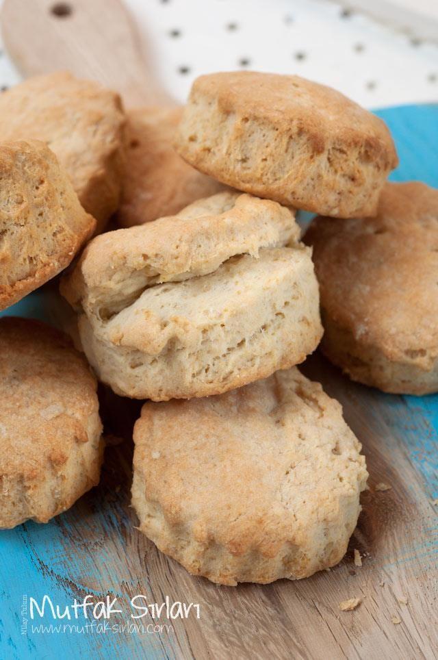 Biscuit (Tereyağlı Çörek) Tarifi | Mutfak Sırları