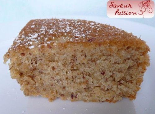 Biscuit moelleux à la noisette de Philippe Conticini