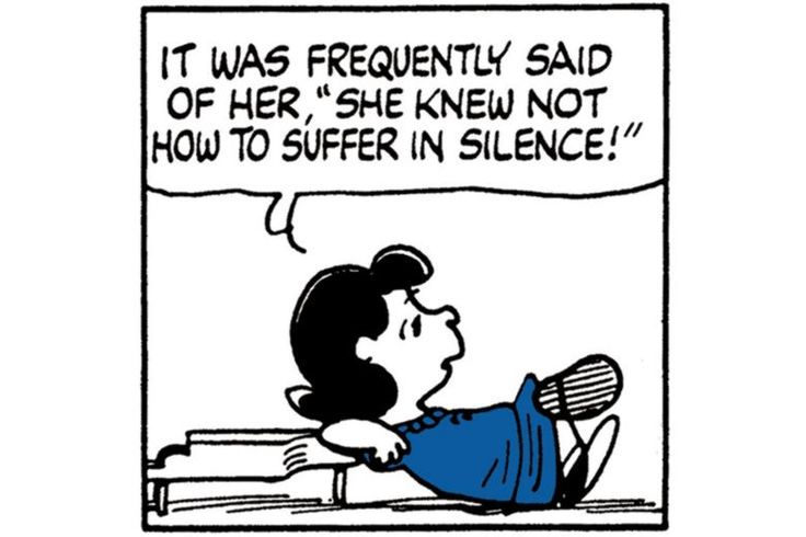 Lucy Van Pelt from Peanuts, Charles Schulz