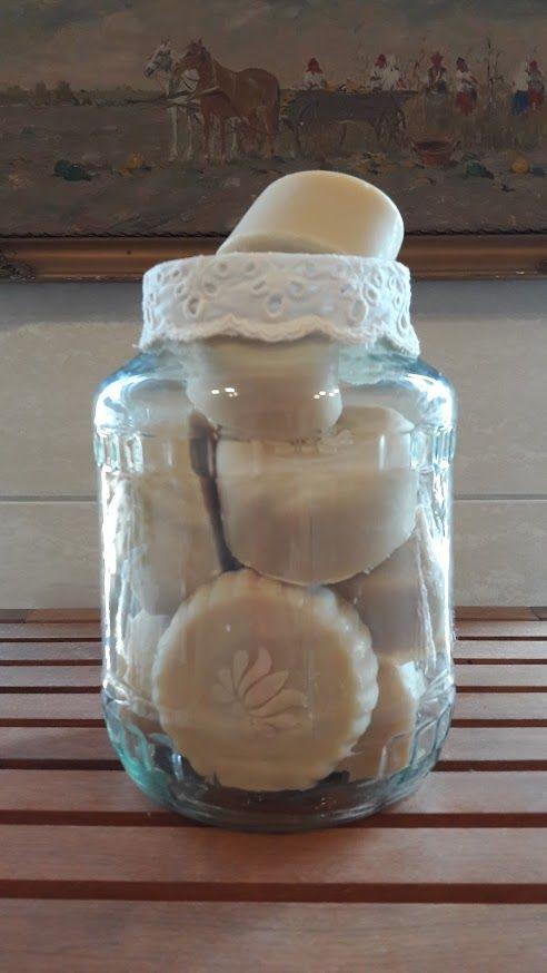Kézműves szappanok befőttesüvegben