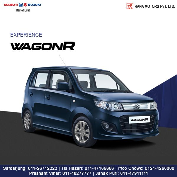 Everyday greatness is made up of a lot of small things done really well. Maruti Suzuki WagonR is all about these little things done absolutely right. http://www.ranamotors.co.in/toolkit/maruti-suzuki-wagonr-en-in.htm  Contact Numbers:- Safdarjung: 011-26712222 Prashant Vihar: 011-48277777 Iffco Chowk: 0124-4260000 Tis Hazari: 011-47166666 Janak Puri: 011-47911111  #MarutiSuzuki #WagonR #Car #RanaMotors #NewDelhi #Gurgaon
