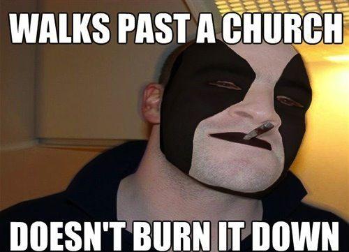 good guy black metal dude