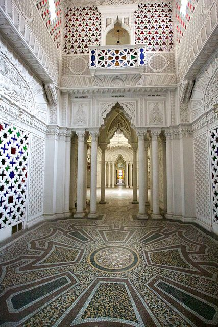 A Hidden palace in Tuscany.....Castello di Sammezzano in Reggello, Tuscany, Italy. 43°42′10.83″N 11°28′18.13″E