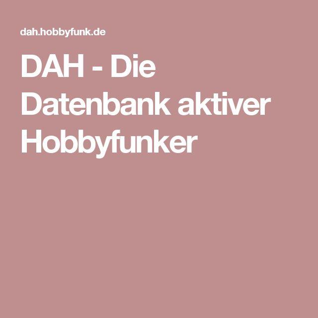 DAH - Die Datenbank aktiver Hobbyfunker