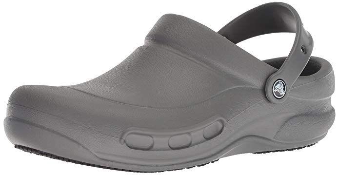 d08efe270071 Crocs Men s and Women s Bistro Clog Slip Resistant Work Shoe