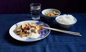 Asian-Iberian recipes for Spanish sofrito and Basque pork belly