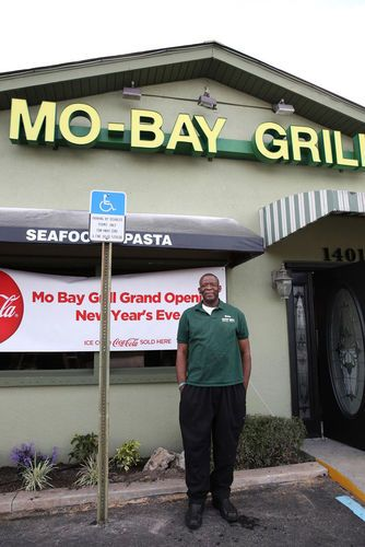 SEBASTIAN— After nine years, the much raved-about Mo-Bay Grill is moving from the Publix Plaza north of Sebastian to a larger, waterfront location. Owner and Chef Wesley Campbell has been working non-stop in order to re-open his popular Jamaican restaurant for the New Year in its new location at 1401 Indian River Drive, in Sebastian's Riverfront District.