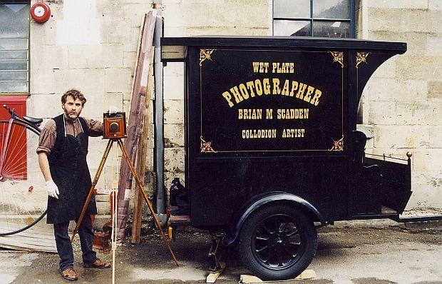 Wet plate collodion photographer Brian Scadden | New Zealand ...