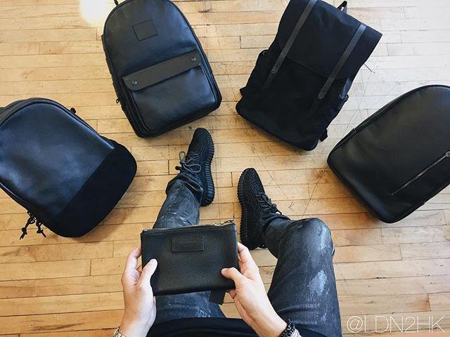 Decision time at @killspencer 1 (Spec ops pack), 2 (utility daypack), 3 (rucksack), or 4 (spec ops pack)? #killspencer #MADEBYKILLSPENCER #leathercraft #handcrafted #luxury #backpack #leatherbackpack #bags #daypack #madeinLA #madeinUSA #silverlake #silverlakeca #losangeles #LA #ycsstyle #leathergoods #design #industrialdesign #allblackeverything #outfitfromabove #yeezy #yeezys #yeezy350boost #yeezyboostlow #yeezyboost #yeezyboost350 #adidas #adidasoriginals #pirateblack