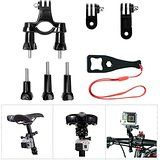 Cheap Fantaseal Bicycle Mount Bike Mount Kit for GoPro Bike Mount GoPro Handlebar Mount Bicycle Seatpost Mount w/ GoPro... sale