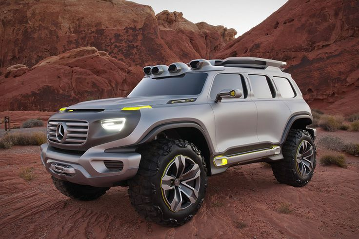 Mercedes Ener-G-Force Concept,  hmmmm nah.  Looks good but if you want a jeep buy a jeep.  Same price range lol.