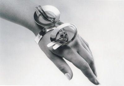 1960s silver bracelet designed by Paula Häiväoja