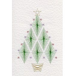 Form-A-Lines Stitching Cards Christmas Tree C26-3