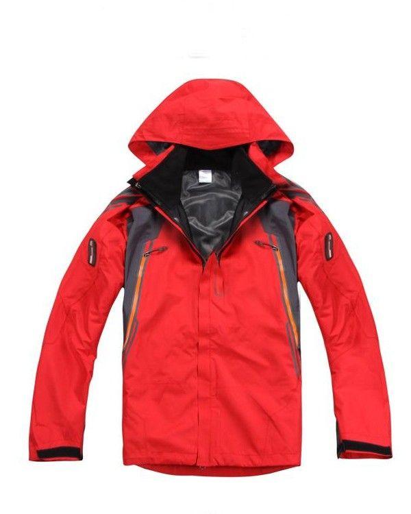Outdoor Nylon Long Sleeve Waterproof Men Jackets  Price: $143.17 USD