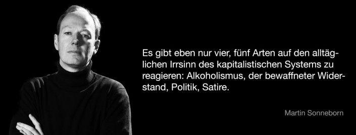 Martin Sonneborn über Satire