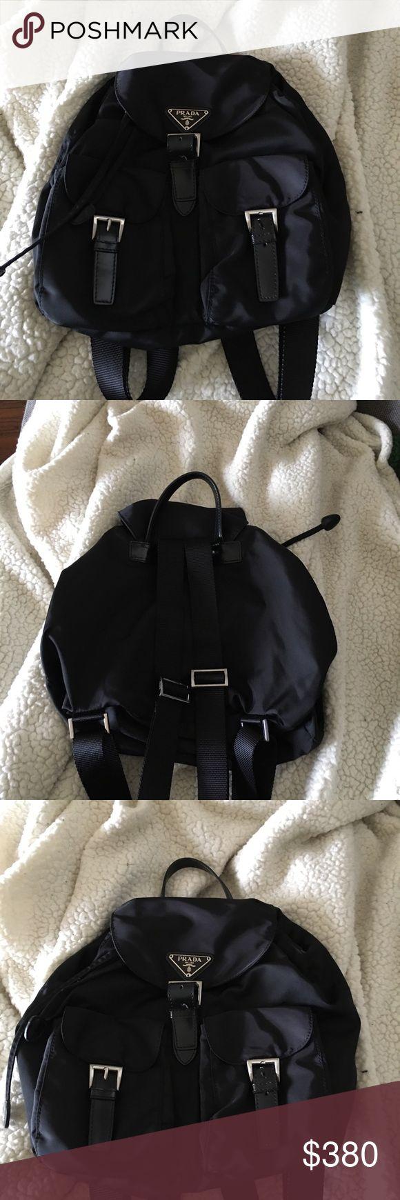 AUTHENTIC PRADA BACKPACK Vintage-SHEEN LIKE NEW PRADA Bags Backpacks