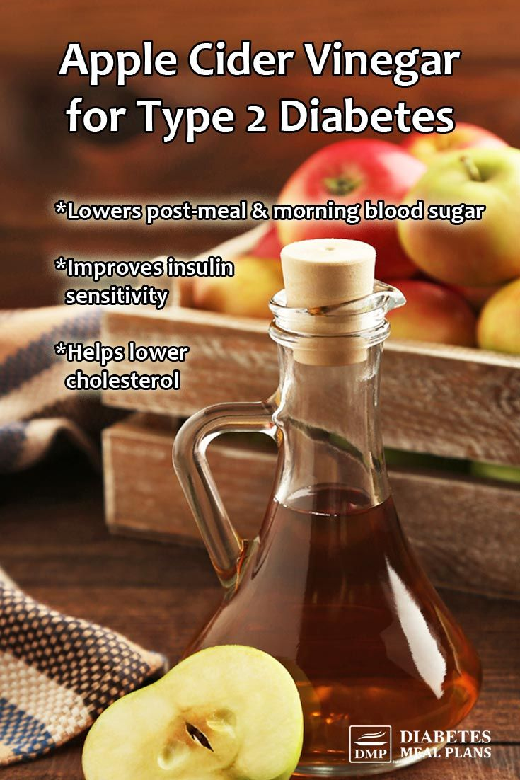 apple cider vinegar diet for diabetics