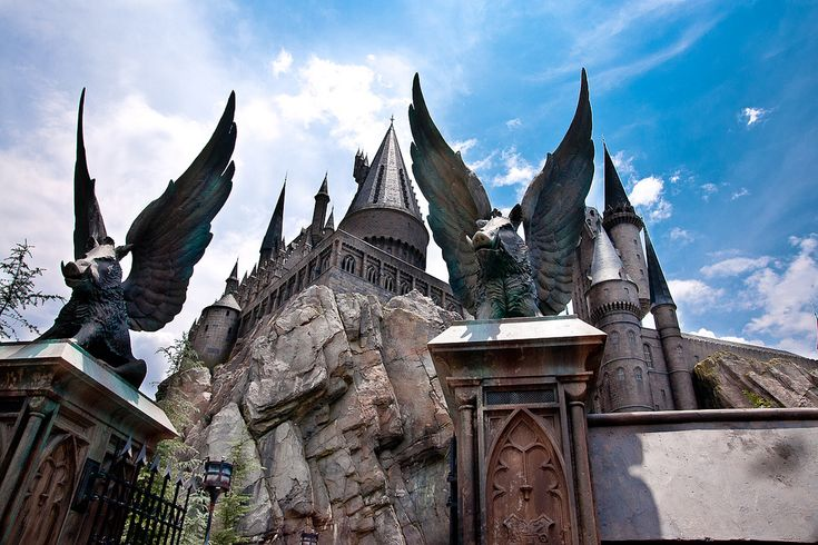 I have to go there, so Hogwarts is not only real in my head.