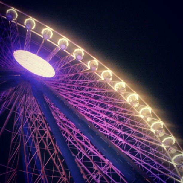 Ferry wheel #notterosa - Instagram by @soulplace