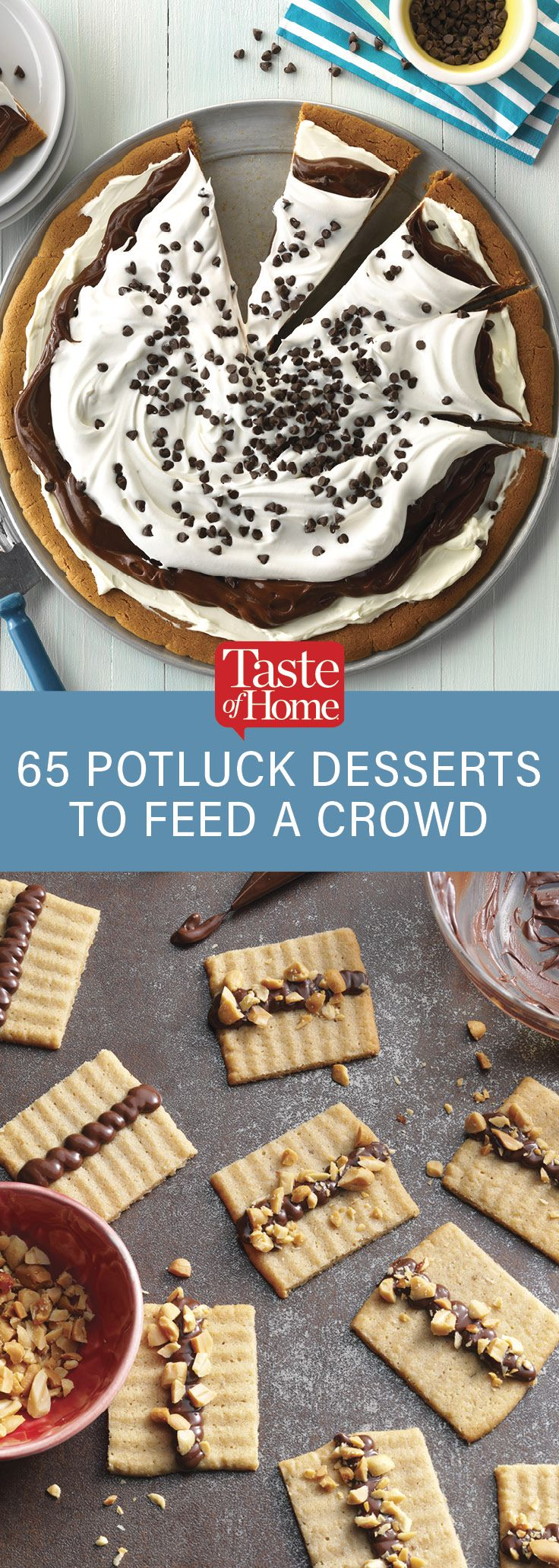 65 Potluck Desserts That Will Feed a Crowd