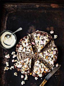 Rocky Road -pizza | K-Ruoka #popcorn