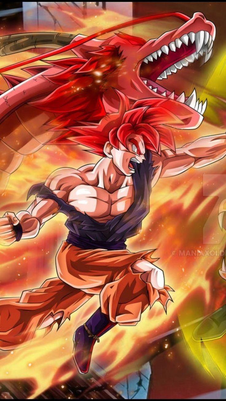 Pin by Marshall Campbell on GOKU Dragon ball super manga