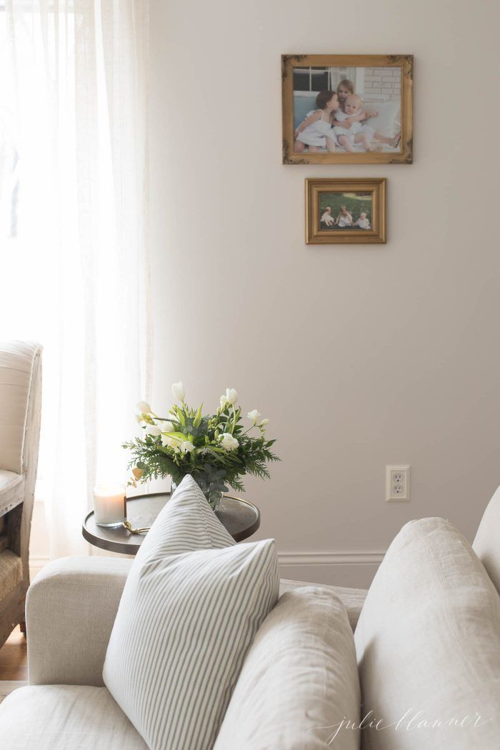 Sherwin Williams Zurich White Paint Color See How It Looks In Different Rooms Under Various Li White Wall Paint White Walls Living Room Colourful Living Room