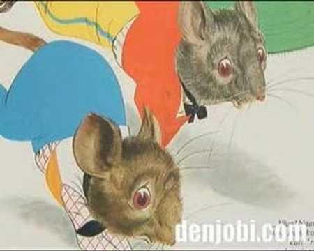 De Veldmuis en de Stadsmuis - fabel van La Fontaine - YouTube
