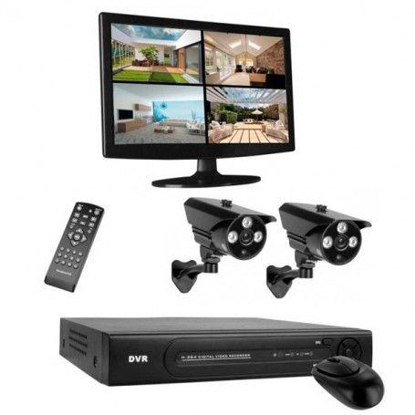 Sicherheit Videoüberwachung Smartwares DVR724S HD Videoüberwachungssystem