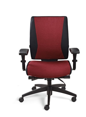 #New #Takori High Back Synchro Tilter #chair From #Global. Barber  ChairOffice Furniture