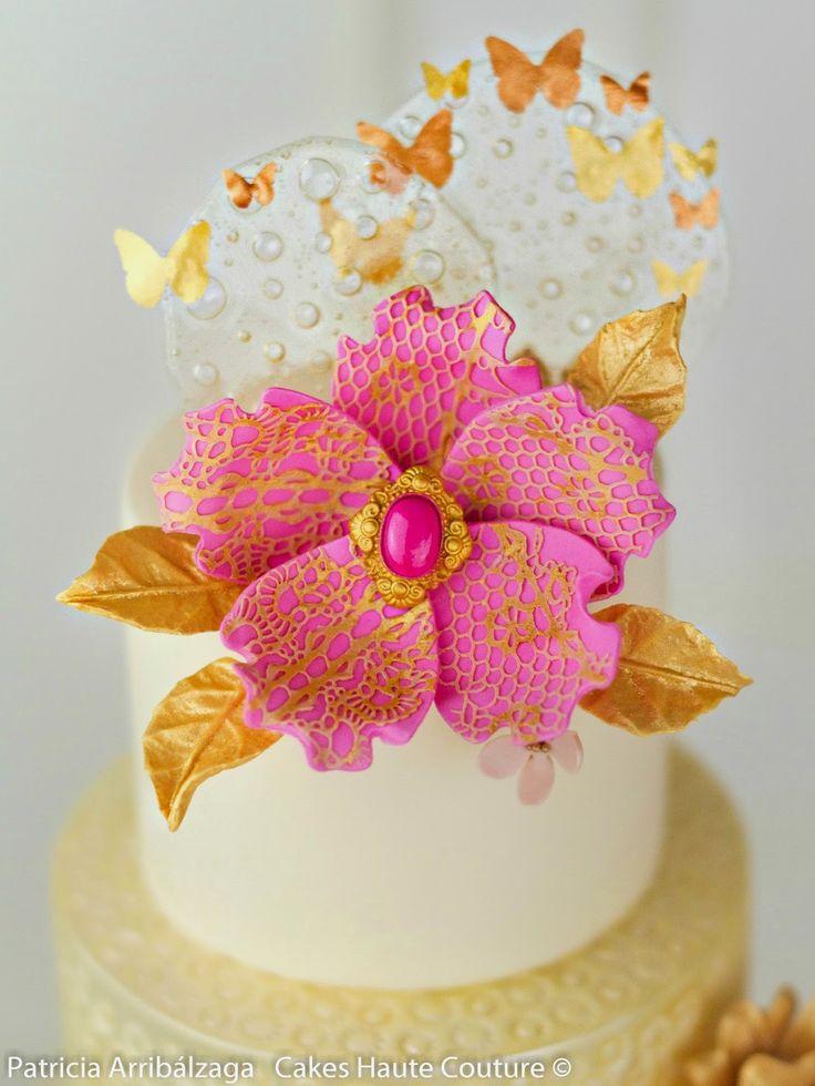 Curso de flores de azúcar modernas