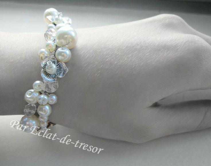Bracelet d'allaitement tresor white star