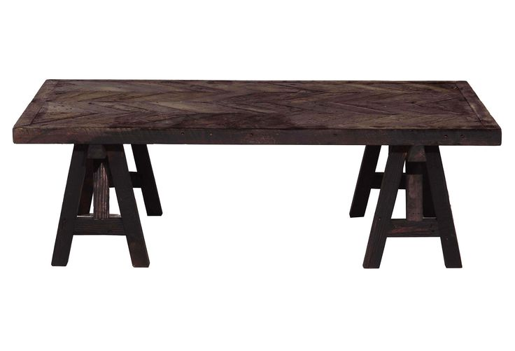 One Kings Lane - Pieces We Dream Of - Bixby Coffee Table, Benchmade by Brownstone.