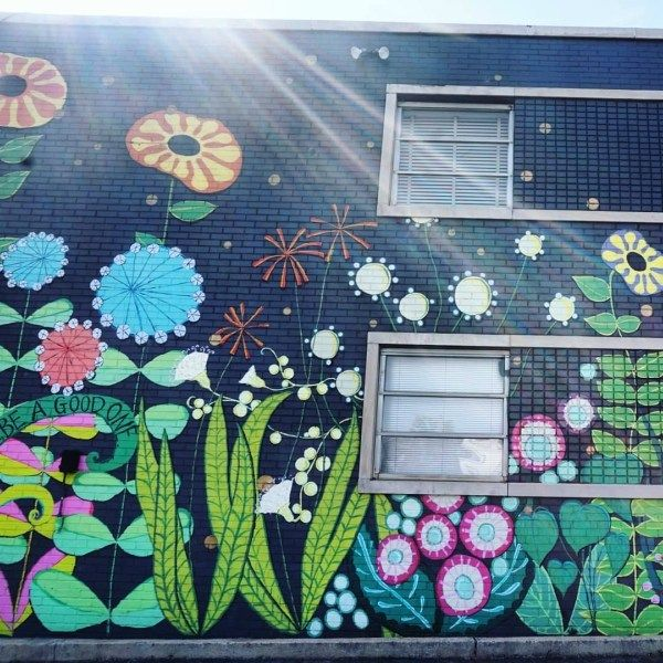 The Most Instagram Worthy Spots In Greenville Sc The Eclectic Voyager Wall Street Art Street Mural Instagram Wall
