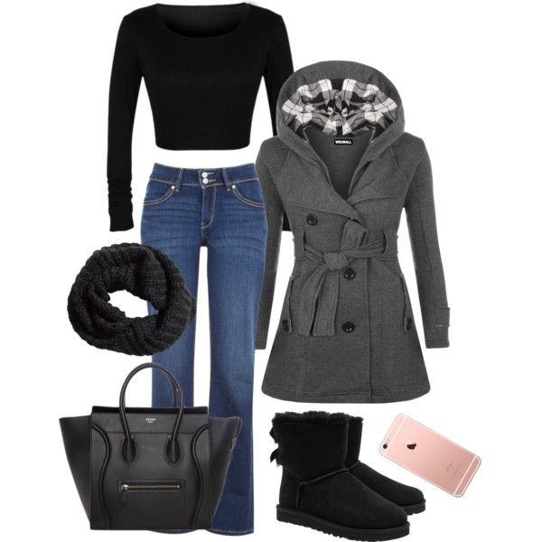 Fall by amanda1301 on Polyvore featuring polyvore, moda, style, WearAll, Levi's, UGG Australia and H&M