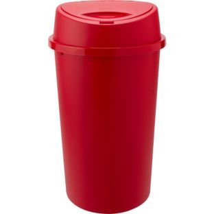 Buy 45 Litre Touch Top Kitchen Bin - Red at Argos.co.uk - Your Online Shop for Kitchen bins.