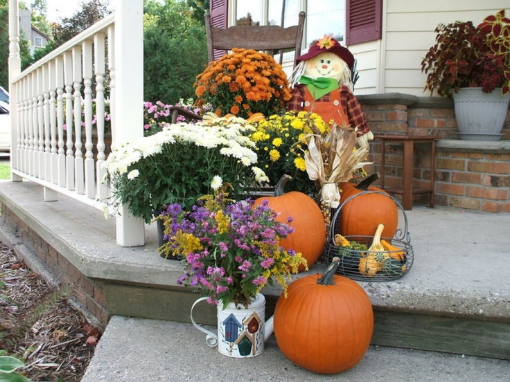 69 Best Images About Fall Outdoor Decorating Ideas On