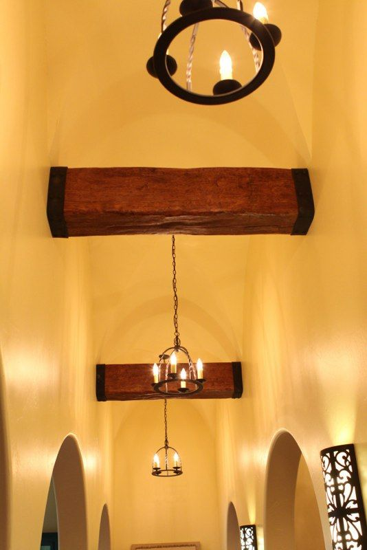 1000 images about metal straps on pinterest mantels for Old world traditions faux beams